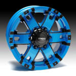 Wheel Range - Pearl Series - FORCE - Pearl Blue C/A Face